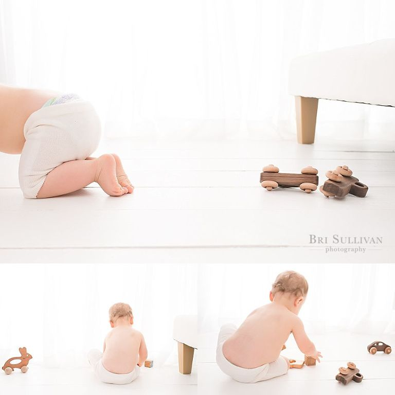 Baby Photographer session with Bri Sullivan