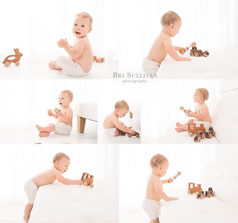 Baby Photographer session with Bri Sullivan