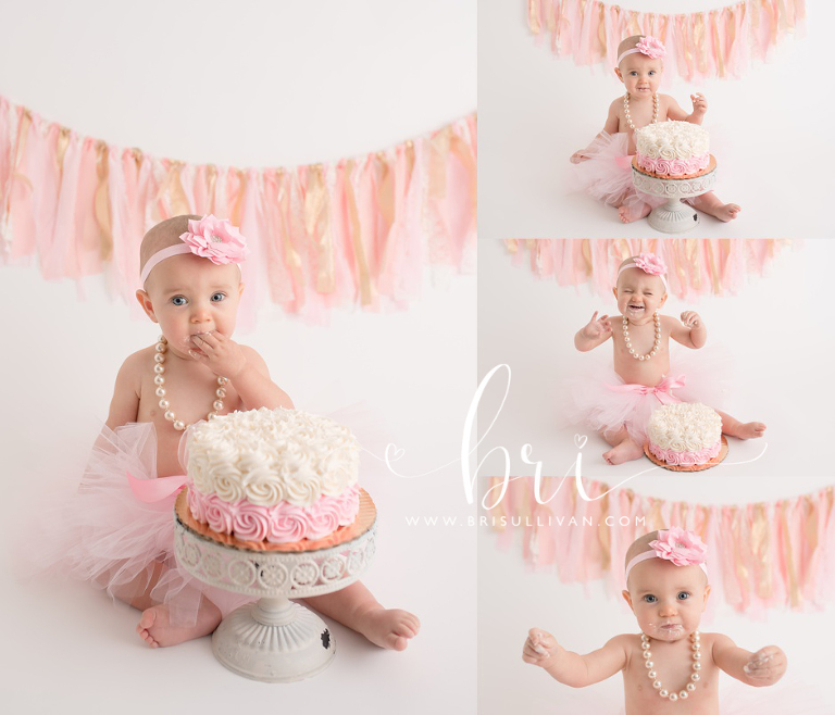 Cake Smash Photographer | Houston Cake Smash Photography